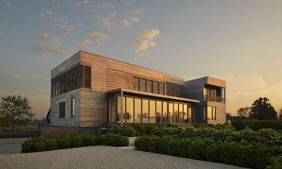 Bridgehampton beach house designed by Murphy Burnham Buttrick Architects